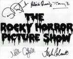"""ROCKY HORROR PICTURE SHOW"" MULTI SIGNED by five 10""x 8"" COA 11902"