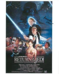 Amanda Noar STAR WARS - Episode VI Return of the Jedi 'JESS' GSA 10x8 COA 10112