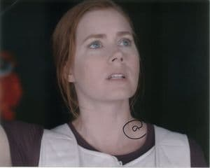 Amy Adams -  ARRIVAL  Louise Banks - 10 x 8 Genuine signed Autograph 10755