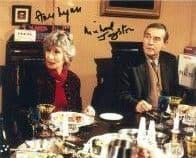 Ann Lynn & Michael Jayston FOOLS & HORSES  - Genuine Signed Autograph 10x8 COA  11285