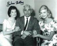 Barbara Shelley HAMMER HORROR Genuine Signed Autograph  10 x 8  COA 5973