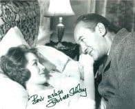 Barbara Shelley HAMMER HORROR Genuine Signed Autograph  10 x 8  COA 5979