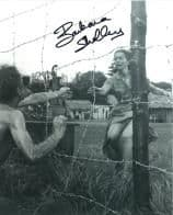 Barbara Shelley HAMMER HORROR Genuine Signed Autograph  10 x 8  COA 5980