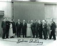 Barbara Shelley HAMMER HORROR Genuine Signed Autograph  10 x 8  COA 5981