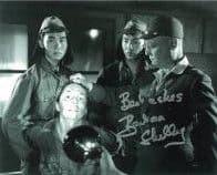 Barbara Shelley HAMMER HORROR Genuine Signed Autograph  10 x 8  COA 5983