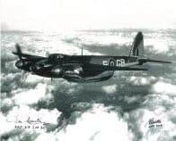 Brian Beattie & Des Curtis (WW2 Pilots) - Genuine Signed Autograph 7790