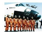 BRUCE MELNICK NASA Astronaut STS-41 & STS-49 signed 10 by 8