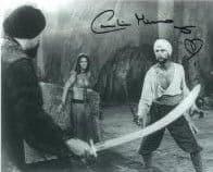 Caroline Munro (Sinbad, Bond, Dracula) - Genuine Signed Autograph 7321