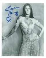 Caroline Munro (Sinbad, Bond, Dracula) - Genuine Signed Autograph 7338
