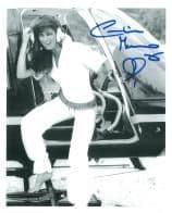 Caroline Munro (Sinbad, Bond, Dracula) - Genuine Signed Autograph 7341