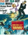 Catherine Schell - BOND 007 Genuine Signed Autograph 10X8 COA