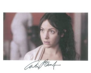 Signed 10 x 8 Photograph of Nicola Bryant  This is an orginal autograph and not a copy.