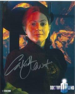 Catrin Stewart (Stella, Doctor Who) - Genuine Signed Autoraph 8325