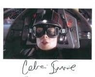 Celia Imrie STAR WARS Genuine Signed Autograph 10 x 8  COA 7963