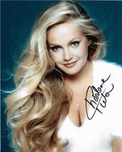 Charlene Tilton Lucy Ewing' DALLAS Genuine Signed Autograph '10 x 8  COA  11689