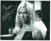 Chase Masterson Leeta in Star Trek: DS9, Genuine Signed Autograph 10x8 6370