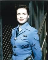 Chloe Annett RED DWARF  Genuine Signed Autograph 10x8 COA 6316