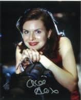 Chloe Annett RED DWARF  Genuine Signed Autograph 10x8 COA 6323
