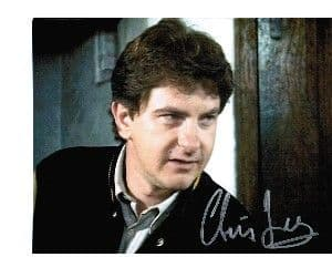 Chris Jury from Lovejoy hand signed autograph