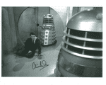 Clive Doig DOCTOR WHO  Vision Mixer, Genuine Signed Autograph 10x8 COA 9276