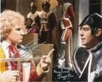 Colin Baker & Michael Jayston  DOCTOR WHO  Genuine Signed Autograph,  5225 COA