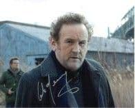 Colm Meaney in Law Abiding Citizen, DS9, Star Trek,  Genuine  Autograph 10x8  11120