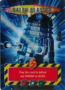 DALEK BLASTER #  Doctor Who Battles In Time  Ultra Rare  UR3DCard-  10606