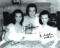 Damien Thomas & Mary & Madeline Collinson 'HORROR' Genuine Signed Autograph 10x8 11168