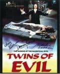 Damien Thomas & Mary & Madeline Collinson 'HORROR' Genuine Signed Autograph 10x8 5796