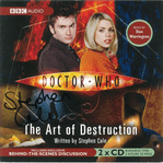 "Doctor Who ""The Art of Destruction"" (CD COVER ONLY) signed by Stephen Cole 2401"