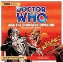 Doctor Who & the Dinosaur Invasion (CD COVER ONLY) signed by Martin Jarvis 1312