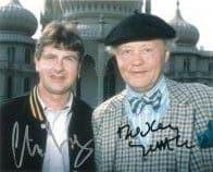 Dudley Sutton & Chris Jury LOVEJOY - Genuine Signed Autograph 10X8 coa 11104