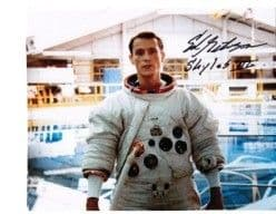 Ed Gibson NASA Astronaut genuine signed autograph 10X8 COA