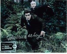 Edward de Souza 'Kiss of the Vampire', HAMMER HORROR Genuine Signed Autograph 10 x 8 COA 3236