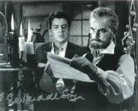 Edward de Souza 'Kiss of the Vampire', HAMMER HORROR Genuine Signed Autograph 10 x 8 COA 7596