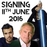 Event -  Celebrity Signing, East London, 11th June 2016