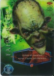 FAIRY RAGE -  BBC 2006 Torchwood Trading Card   UR3D Card-  10629