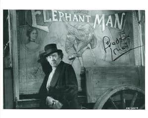 Freddie Jones, ELEPHANT MAN 10 x 8 genuine signed autograph 11108