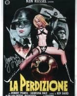 Georgina Hale (Alma Mahler) 'La Perdizione', HORROR  Genuine Signed Autograph 10X8 COA 6991