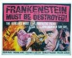Harry Fielder 'Frankenstein must be Distroyed', HAMMER HORROR Genuine Signed Autograph 10x8 COA 3571