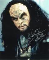 JG Hertzler (Star Trek DS9) - 10 X 8 Genuine Signed Autograph, 6214
