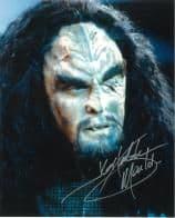 JG Hertzler (Star Trek DS9) - 10 X 8 Genuine Signed Autograph, 6215