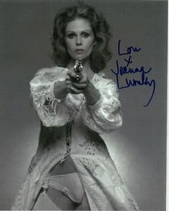 Joanna Lumley , Genuine  Autograph 10x8  11133