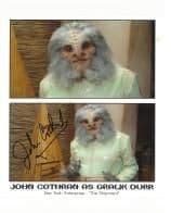 John Cothran (Star Trek) - Genuine Signed Autograph 7514