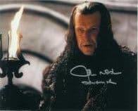 John Noble (Fringe) - Genuine Signed Autograph COA 10x8  6611