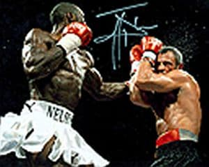 Johnny Nelson, WORLD CHAMPION BOXER Genuine Signed Autograph 10 X 8 COA 2902 (1)
