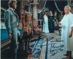 Judd Hamilton & Caroline Munro - Genuine Signed Autograph 7490
