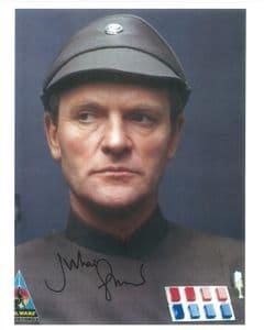 Julian Glover STAR WARS General Maximilian Veers 10X8 General Signed Autograph COA 10121