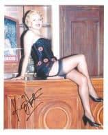 Kim Hartman (Allo Allo) - Genuine Signed Autograph 7474