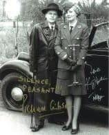 Kim Hartman & Richard Gibson (Allo Allo) - Genuine Signed Autograph 7630